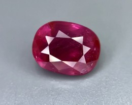 1.04CT Certified Natural Ruby Beautiful Faceted Gemstone S18