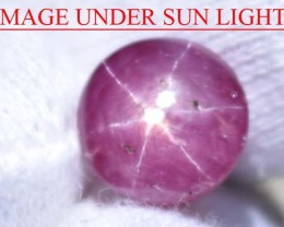 5.96 Ct Star Ruby CERTIFIED Beautiful Natural Unheated & Untreated