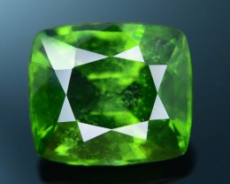 Rare 5.11 ct Green Zircon Great Luster Unheated Cambodia SKU 2