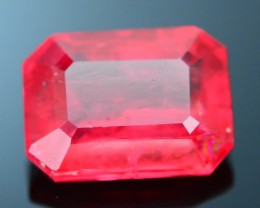 Rare 1.48 ct Rhodonite Great Rasberry Color Africa SKU 1