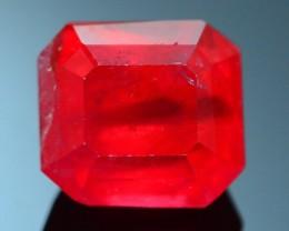 Rare 2.46 ct Rhodonite Great Rasberry Color Africa SKU 1