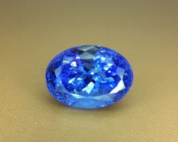 2.90 Crt Natural Tanzanite Excellent Color Faceted Gemstone (R 139)