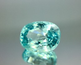 3.80 Crt Natural Blue Zircon Faceted Gemstone (R 139)