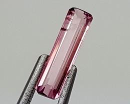 0.85Crt Pink Tourmaline  Best Grade Gemstones JI (3)