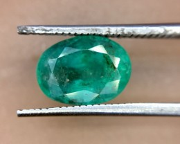2.15 Crt Natural Zambia Emerald Faceted Gemstone (950)