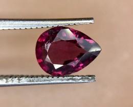 1.35 Crt Natural Rhodolite Garnet Faceted Gemstone (950)