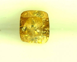 0.28cts Fancy Greenish Yellow Diamond, 100% Natural Untreated