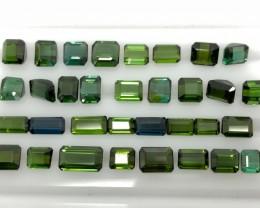 37.00 CT Natural Green Tourmaline Beautiful Gemstone  L1