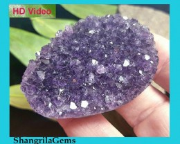 55mm Uruguayan amethyst geode  ideal for jewelry 140ct