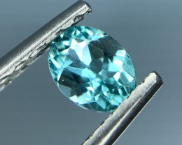 0.49 CT NATURAL NEON APATITE HIGH QUALITY GEMSTONE S25
