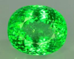 AIGS Certified 28.35 ct Natural Neon Green  Paraiba Tourmaline