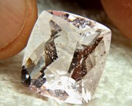 CERTIFIED - 21.65 Carat Pink Brazilian Morganite - Gorgeous