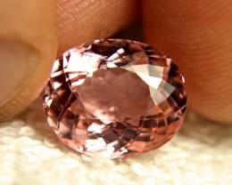 CERTIFIED - 6.82 Carat Pink African VVS Tourmaline - Superb