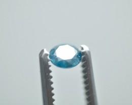 Natural Round Blue Diamond 0.465 ct