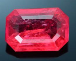 Rare 1.12 ct Rhodonite Great Rasberry Color Africa SKU 1