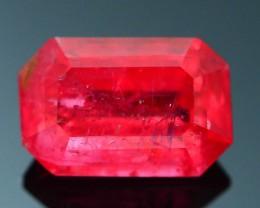 Rare 1.72 ct Rhodonite Great Rasberry Color Africa SKU 1