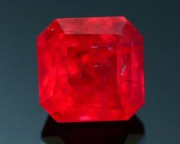 Rare 1.66 ct Rhodonite Rasberry Color Africa SKU 1