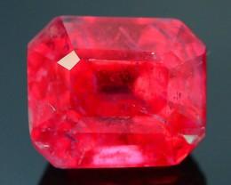 Rare 1.36 ct Rhodonite Great Rasberry Color Africa SKU 1
