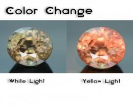Rare 1.56 ct Garnet Color Change Bekily Mine Madagascar SKU-1