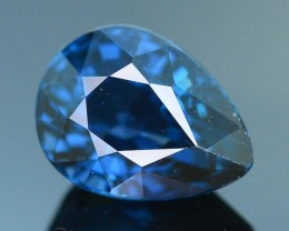 AAA Grade 1.32 ct Cobalt Blue Spinel Ceylon Unheated and Untreated SKU.2