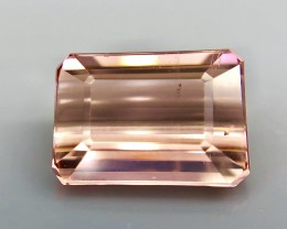 4.45 CT Natural pink Tourmaline  Beautiful Faceted Gemstone S18