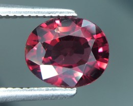 1.64 Cts Natural Cherry Red Garnet Awesome Color ~ Africa Kj85