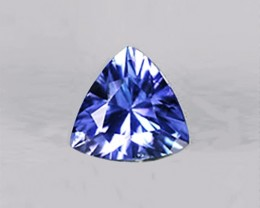 0.70 ct Perfectly Clean And Bright IF Astonishing Natural Tanzanite