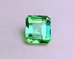 1.85 cts VVS GREEN TEAL TOURMALINE ~ HIGH END - BLUE COLOR SHIFTING!!