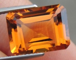 """GIA Cert,  7.18cts """"Sunset Beryl"""",    Loop Clean,   Untreated,"""
