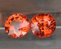 2.35cts  Spessartite,  Untreated Vivid Stone,  Clean