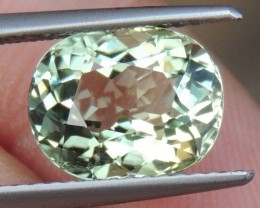 "3.30cts Congolese ""Mint"" Tourmaline, Untreated, Clean"
