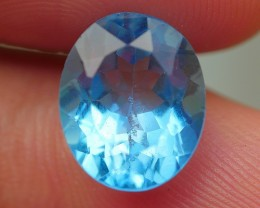 4.40 CRT BEAUTIFUL SWISS BLUE TOPAZ VERY CLEAR