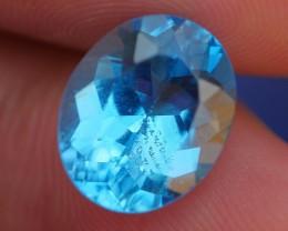 4.50 CRT WONDERFUL SWISS BLUE TOPAZ VERY CLEAR