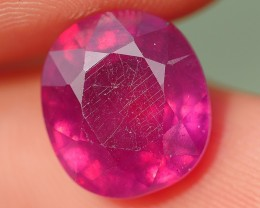 6.05 CRT BEAUTY CLEAR RED MADAGASCAR RUBY