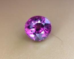 1.20 Crt Natural Purple Rhodolite Garnet Faceted Gemstone (R 140)