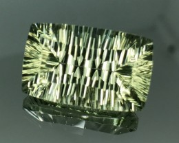 12.78 CT NATURAL PRASOILITE WITH BRILLIANT CUT  GEMSTONE P3