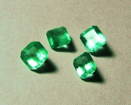 2.39 tcw Beautiful Colombian Natural Emeralds