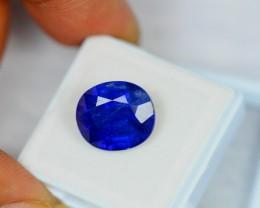 9.37ct Natural Ceylon Blue Sapphire Oval Cut Lot GW830