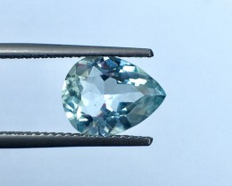 2.20CTS  Lusterous Aquamarine piece