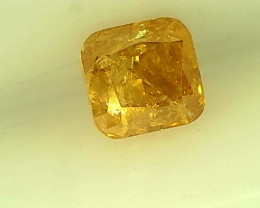 0.28cts Fancy brownish Orange Diamond , 100% Natural Untreated