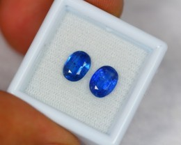 3.30ct Natural Blue Kyanite Oval Cut Lot GW898
