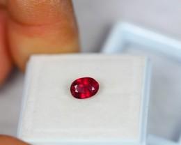 1.10ct Natural Ruby Oval Cut Lot GW902