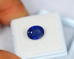 4.55ct Natural Blue Sapphire Oval Cut Lot GW918