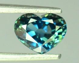 1.35 ct Natural Bi Color  Sapphire ~ Sri Lanka