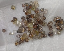 20.50cts Natural Fancy Colored Diamonds , Untreated Gemstones