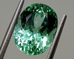 5.75 Cts GREEN SPODUMENE Best Grade Gemstones JI (5)