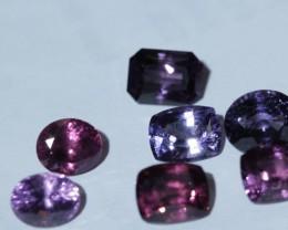 16.30 cts  7 stones Sri Lankan spinel.