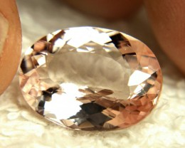 10.13 Carat Brazilian VVS/VS Morganite - Superb