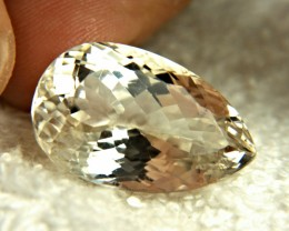 38.28 Carat Ivory Colored Himalayan Triphane - Gorgeous