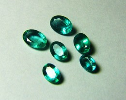 5.49 tcw Beautiful Zambian Natural Emeralds